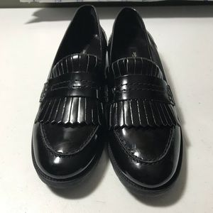 New Zara woman's fringed Moccasin shoes size 6.5